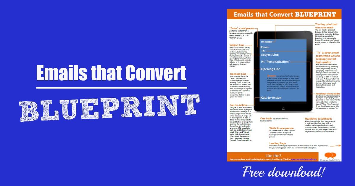 Emails that convert blueprint mandyoneill emails blueprint malvernweather Image collections